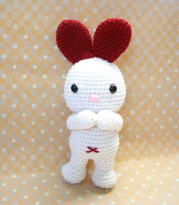 Amigurumi pattern LOVE Ears Bunny Crochet Amigurumi animal