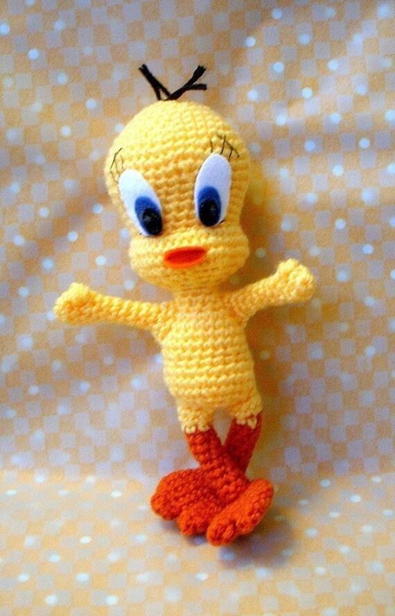 Amigurumi Tweety Yapilisi : Amigurumi pattern - Hello Tweety - Crochet amigurumi toy ...