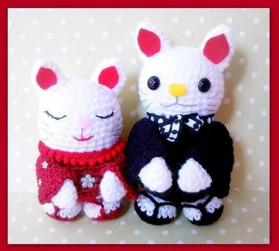 Maneki Neko Amigurumi Patron : Amigurumi patterns Japanese Maneki Neko / Lucky Cat by ...