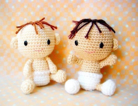 Are Amigurumi Safe For Babies : Baby Baby Amigurumi crochet pattern doll pattern / by TGLDdoll