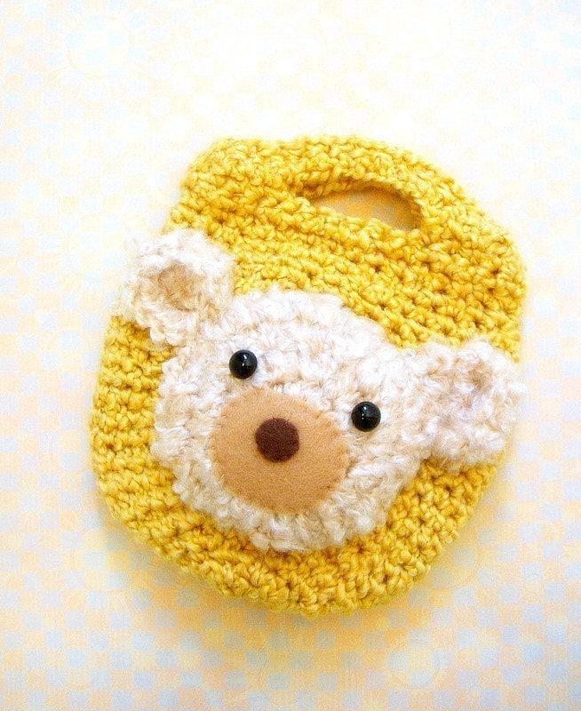 Crochet Little Bag : Crochet amigurumi bag pattern My Little Snack Bag / by TGLDdoll