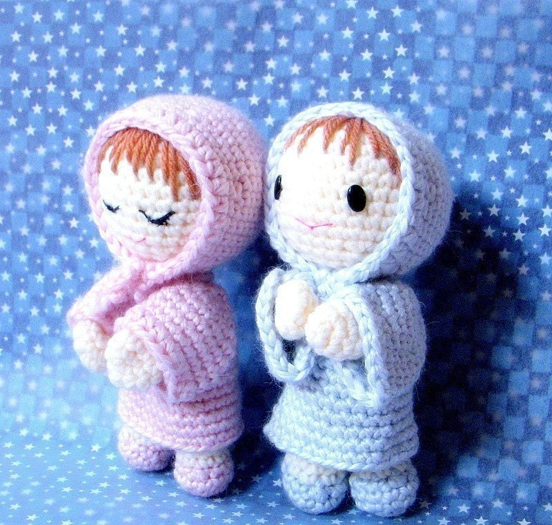 Amigurumi Pattern Dolls : Amigurumi pattern Say Prayers Crochet Amigurumi doll