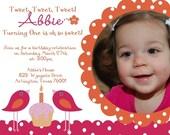 Turning One is So Sweet Custom birthday invitation