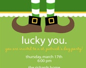 Lucky St. Patrick's Day Party Invitation