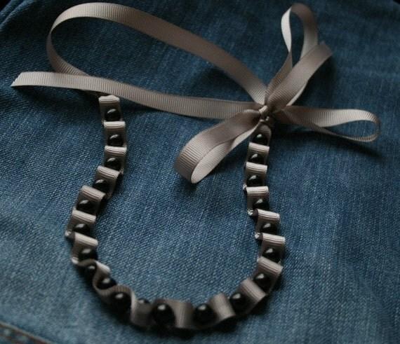Trish Ribbon Necklace