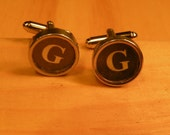 G and G typewriter key cuff links