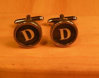 D and D typewriter key cuff links