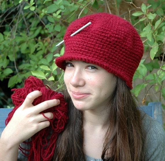 Crochet Hat Patterns, Crochet Hat Tutorial, How to Crochet a Cloche Hat, Crochet Hat for beginners