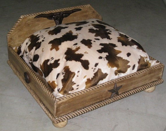Items similar to custom made distressed wood western style for Western style beds