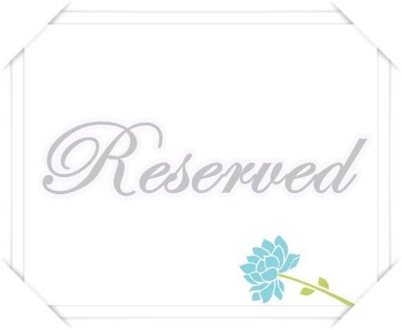 Reserved for gemlover0118