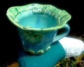 Words To Inspire  Handmade Porcelain Stoneware Coffee Soup Mug