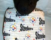 Reversible Pittsburgh Steelers Baby bib