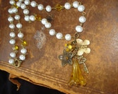 French Chandelier Piece Necklace