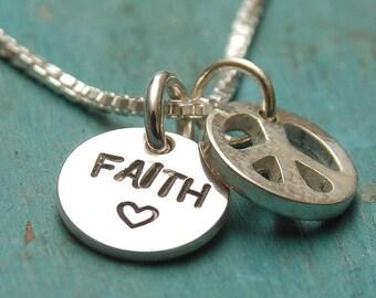 FAITH BRINGS PEACE