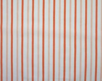 sienna stripes, a vintage sheet fat quarter