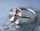 SUMMER SALE ... Primrose Ring - Sterling Silver