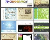 12 Personalized Note Cards w\/Envelopes