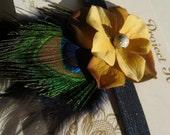 SALE The Josephine Mini Fascinator Baby Headband