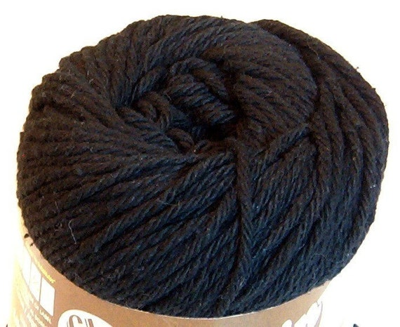 Cotton Yarn - Black - Sugar 'n Cream