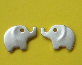 Silver Elephant  Earrings Gold Elephant Studs sterling silver Elephant Post Earrings Kids jewelry elephant Jewelry mom earrings