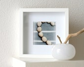 Cotton & pebbles - fine art photography print 5x5 8x8