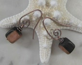 Copper Change the Bead Earrings, You Pick the Beads