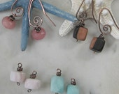 Copper Change the Bead Earrings, Additional Dangles