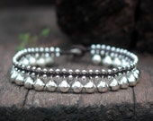 Silver Bell Anklet