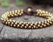All Brass Bracelet