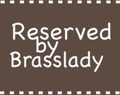 Reserved for nicolebrown29