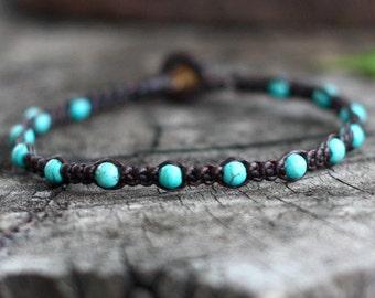 Omit Turquoise Beads Bracelet