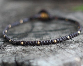 Mini Brass Bracelet