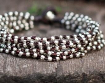 Double Lula Silver Bracelet