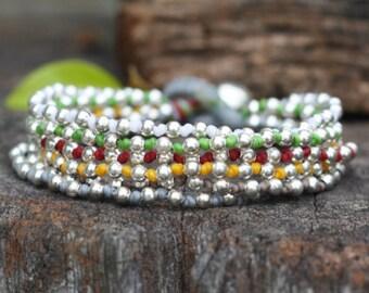 Colorful Lula Silver Bracelet 2
