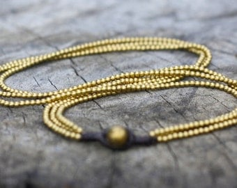 Brass Chains Necklace