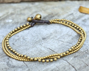 Mix Brass Chain Anklet