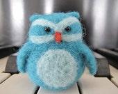 Little Needle Felted Owl - Mozart