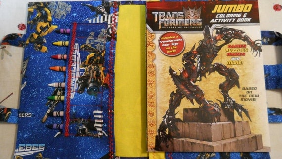 TRANSFORMERS Take Everywhere Coloring Book