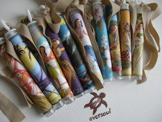 a very special listing for Elizabeth Hansen Vintage Hawaiian......Oversoul Bubble Wishes