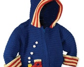 Crochet Hoodie Pattern, Baby Boy Crochet Pattern, Crochet Jacket Patterns, Crochet Patterns