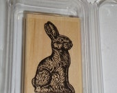 Stampin UP Rubber Stamp - Chocolate Bunny