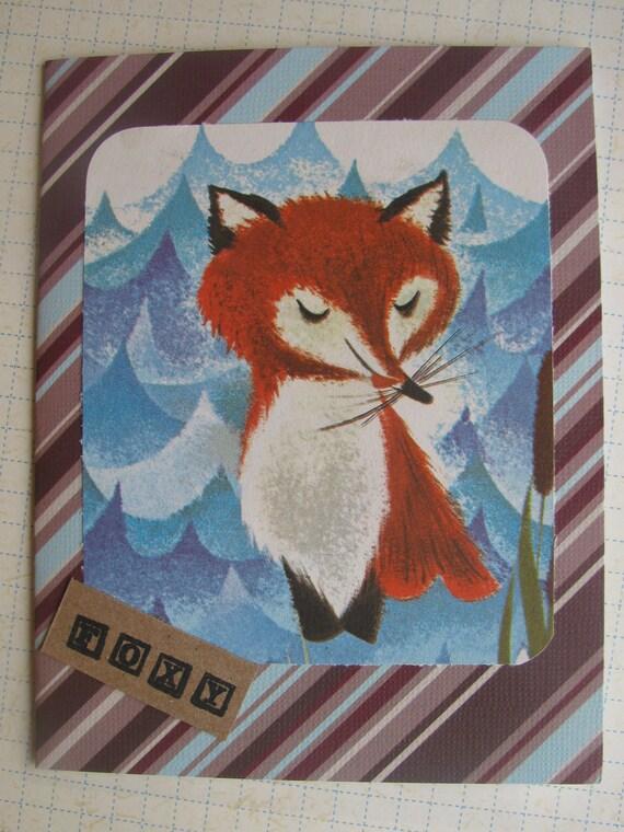 Foxy Greeting Card