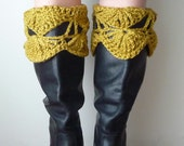 Boot Cuffs in Olive