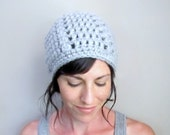 INSTANT DOWNLOAD Crochet PATTERN Winter Slouch Hat pdf chunky hipster beanie for her