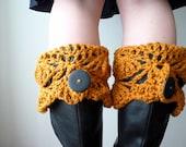 Boot Cuffs in Pumpkin Spice