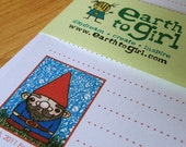 Gnome Stationery Set