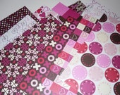 American Crafts Romance Collection  12 x 12 Scrapbook Paper - 22 sheets