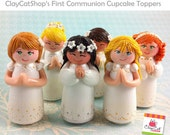 First Communion CUPCAKE Topper - In stock - Accepting Custom orders