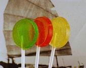 6 Spice Rack Lollipops - Salted Caramel, Tangerine-Clove, Vanilla-Cardamom Flavors