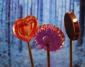 6 Love Triangle Lollipops - Twilight Inspired